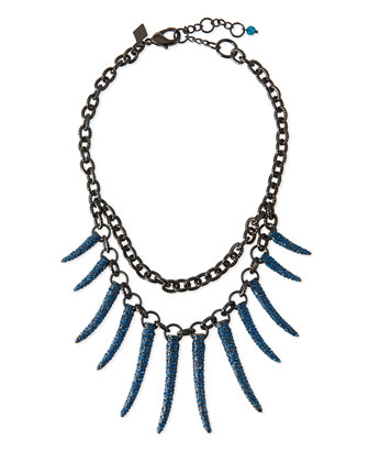 Athena Pave Statement Necklace