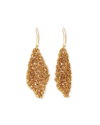 Thea Mesh Drape Earrings