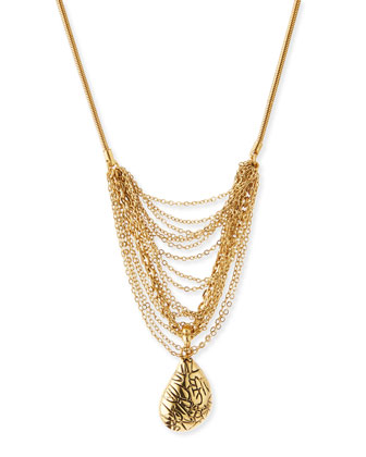 Martina Multi-Chain Pendant Necklace