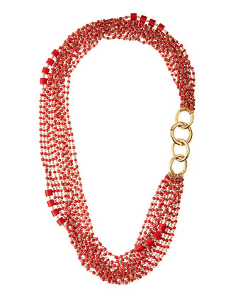 Susan Multi-Strand Beaded Necklace