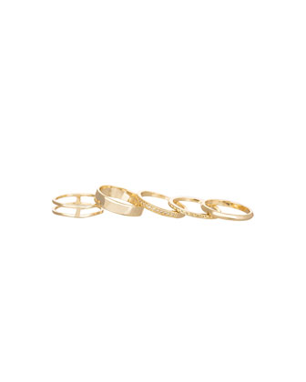 Kara Rings, Set of 5
