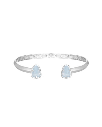 Hanna Bracelet with Lilac Glass Tips