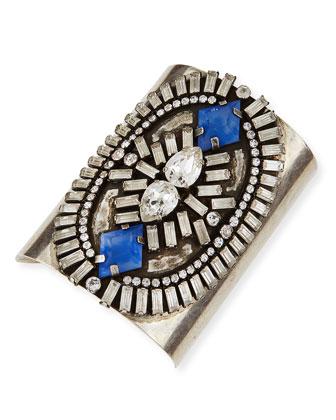 Oakli Crystal Cuff Bracelet