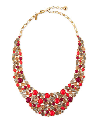 blossom bib necklace