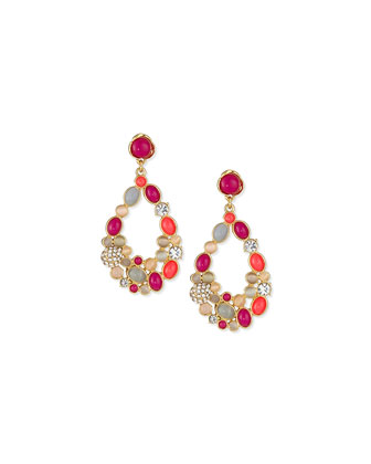 blossom statement earrings