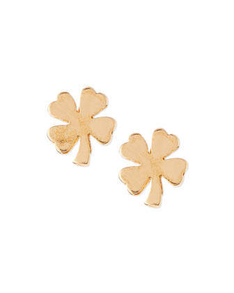 Lucky Clover Stud Earrings