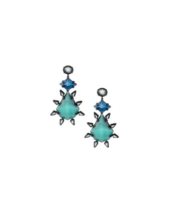 Celeste Crystal Statement Earrings