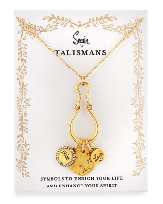 Divine Love Talisman Charm Necklace