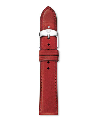 Two-Tone Diamond Deco 16 Watch Head & 16mm Patent Leather Strap