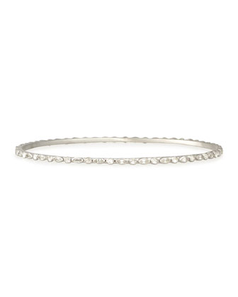 Marquise White Sapphire Eternity Bangle