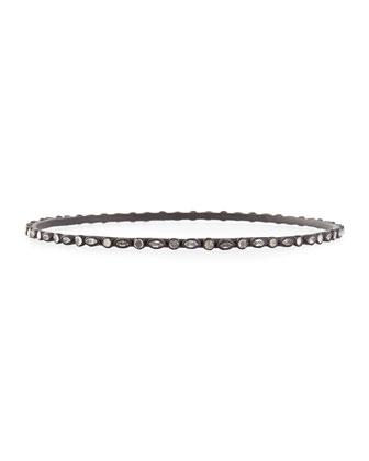 Eternity Marquis Sapphire Bangle Bracelet