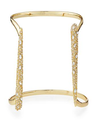 Miss Havisham Parallel Crystal Cuff