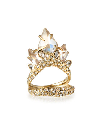 Marquise Cluster Cocktail Ring
