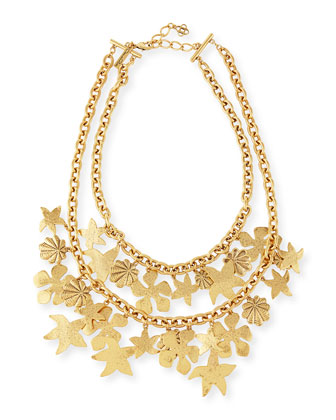 Seashell Golden Chain Necklace