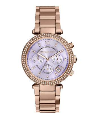Parker Rose Golden Glitz Watch