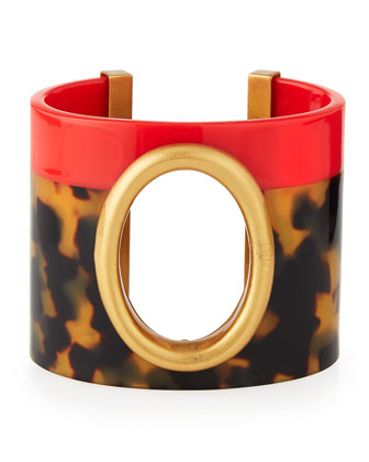 Cutout-Oval Resin Cuff
