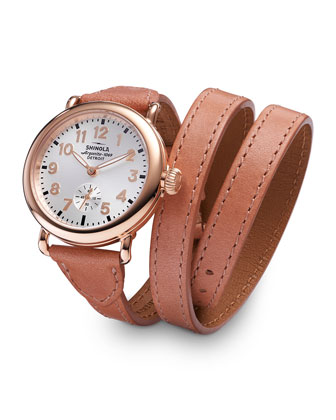 Runwell Triple-Wrap Watch, Birdy Bracelet Strap Watch & Birdy Double-Wrap Watch