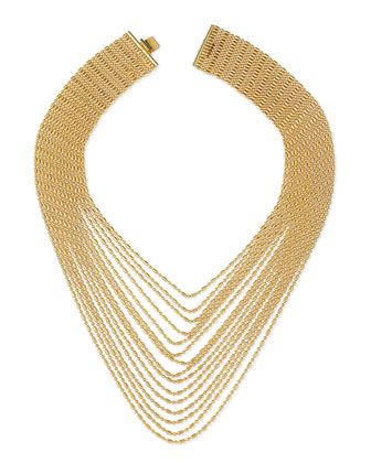 Leighton Multi-Strand Chain Necklace