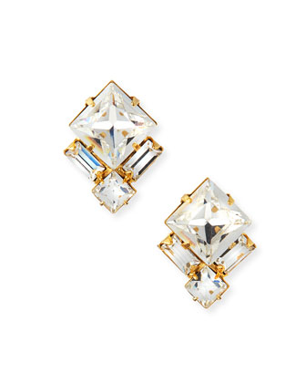 Ava Crystal Stud Earrings