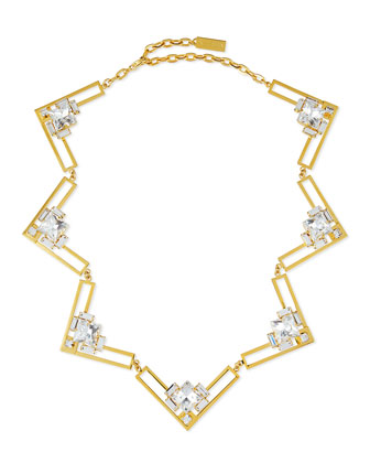 Harlow Crystal Collar Necklace