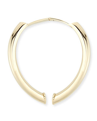 Charlotte Gold-Plated Hinge Necklace