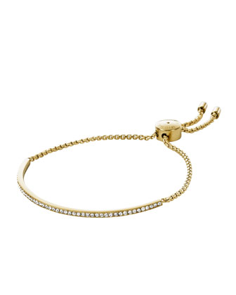 Pave Bar Slider Bracelet