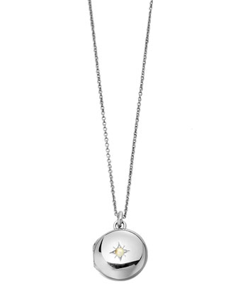 Little Astley Silver Locket Necklace