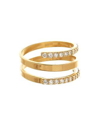 14k Mirage Rock Diamond Ring
