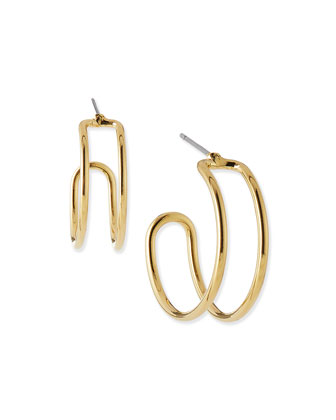 Orbit Wire Hoop Earrings