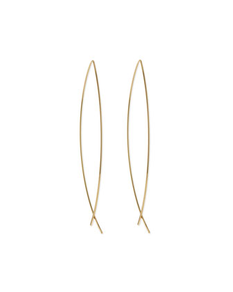 Americana Classic Golden Earrings