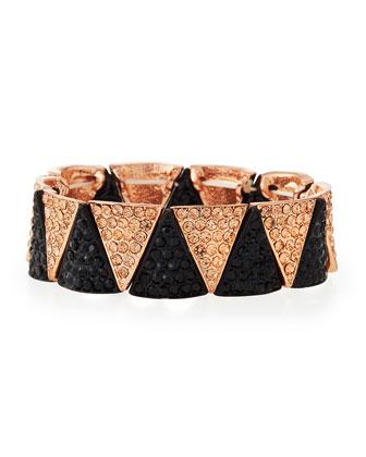 Pave Crystal Stretch Bracelet