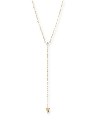 Vista 14k Gold Lariat Necklace