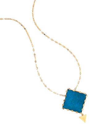 Monaco Boulder Opal Pendant Necklace