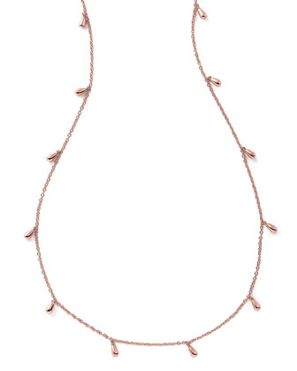 Glamazon Rose Petal Necklace, 50