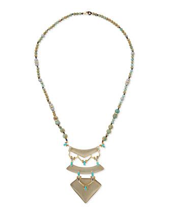 Three-Tier Pendant Necklace