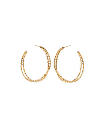 St. Tropez 14k Twist Hoop Earrings