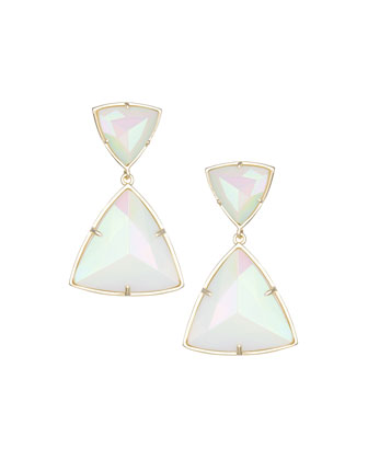 Maury Triangle Drop Earrings