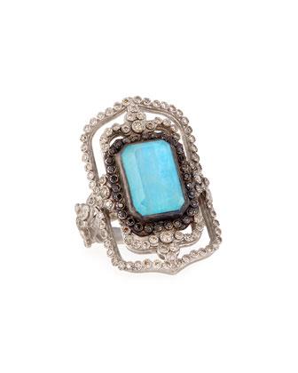 Open Scroll Necklace, Earrings & Ring
