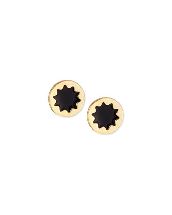 Small Sunburst Stud Earrings