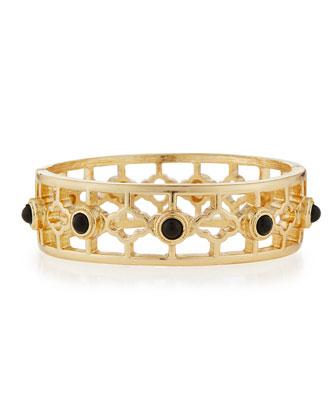 Clover Golden Hinge Bracelet