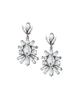 Starlight Crystal Drop Earrings