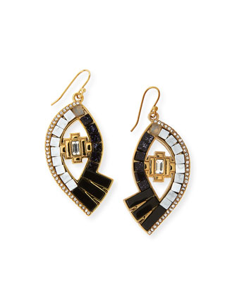 Lumen Mosaic Eye Drop Earrings