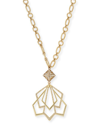 Portico Crystal Pendant Necklace