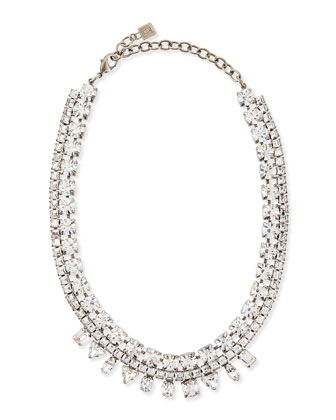 Grant Crystal Bib Necklace