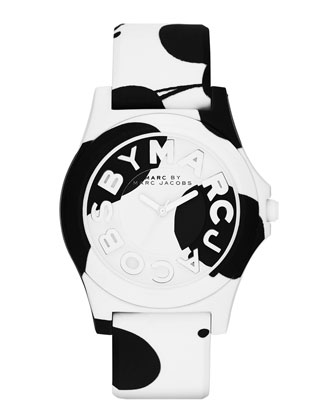 40mm Oil Drop Silicone Watch