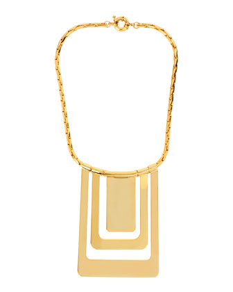 Geometric Statement Necklace
