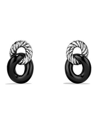Drop Earrings with Black Onyx