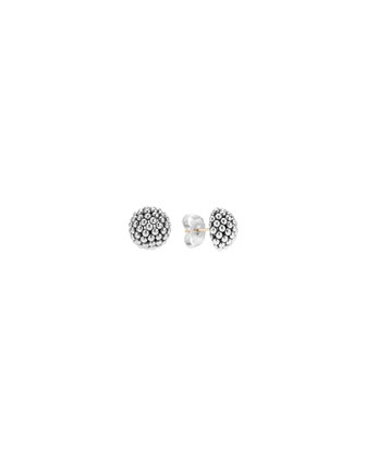 Bold Caviar Small Stud Earrings