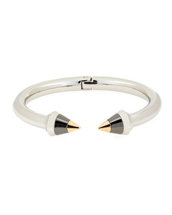 Titan Tricolor Hinge Bracelet