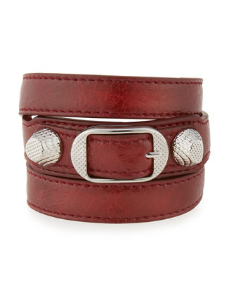 Giant 12 Leather Wrap Bracelet